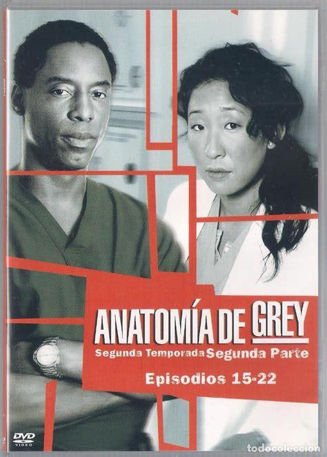anatomia de grey segunda temporada completa comprar