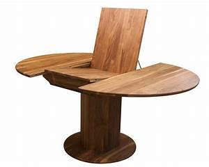 Tisch Rund 80 Cm Ausziehbar : esstisch holz ausziehbar rund ~ Frokenaadalensverden.com Haus und Dekorationen
