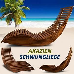 Transat En Bois : transat bain de soleil design en bois acacia ~ Teatrodelosmanantiales.com Idées de Décoration
