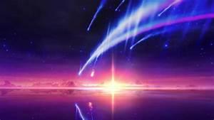 Wallpaper Engine - Tiamat Comet Kimi No Na Wa