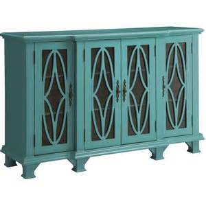 Teal Accent Cabinet coaster accent cabinet teal blue local furniture outlet
