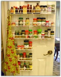 Kitchen Pantry Door Storage Racks