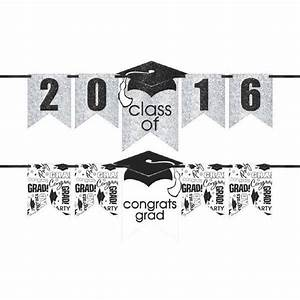 our grad personalized glitter letter banner kit is a With custom letter banner kit