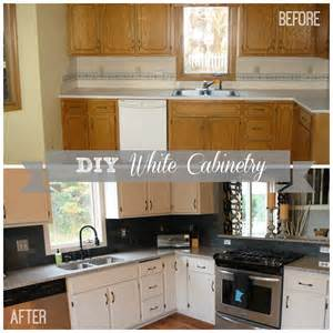 White Diy Kitchen Cabinets by Diy White Kitchen Cabinets Construction2style