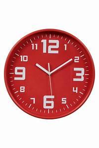 Horloge Murale Rouge : catgorie horloges pendule et comtoise page 2 du guide et comparateur d 39 achat ~ Teatrodelosmanantiales.com Idées de Décoration