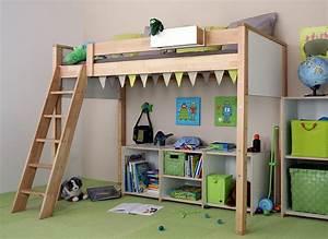 Lit Mezzanine Enfant : lit mezzanine enfant choix et prix avec le guide d 39 achat kibodio ~ Teatrodelosmanantiales.com Idées de Décoration