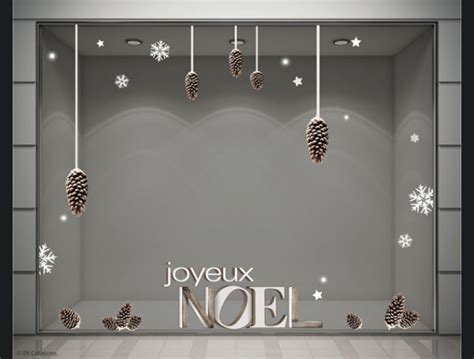 stickers noel vitrine magasin stickers decoration vitrine magasin noel pomme de pin flocon fete 600x455 jpg 600 215 455 id 233 es