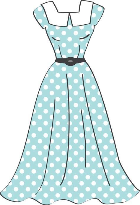 Dress Clipart Retro Sewing Clip Oh My For