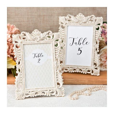 picture frames for wedding tables ivory table number frames set of 2 size from tea and becky