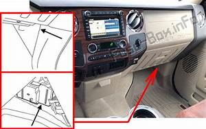 Fuse Box Diagram  U0026gt  Ford F F F F