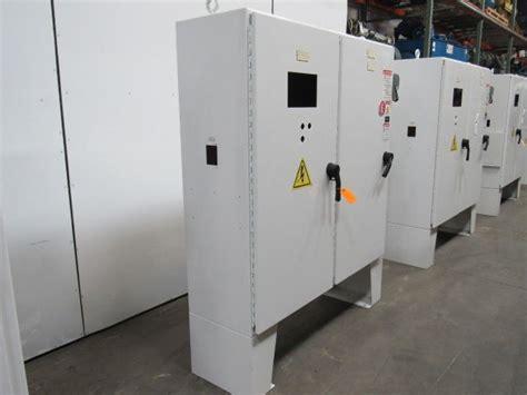 hoffman double door jic control panel electrical enclosure