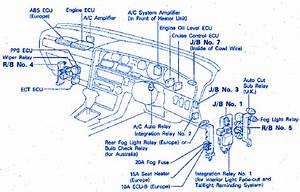 Toyota Tundra 2005 Dashboard Electrical Circuit Wiring Diagram