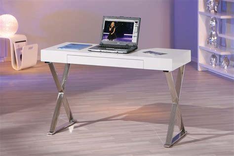 bureau pas cher blanc bureaux pas cher miliboo bureau design blanc laqué luca