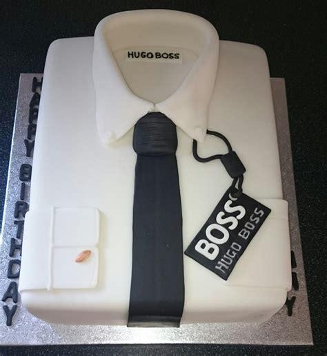 Hugo Boss Shirt Cake  Cool Cakes  Pinterest Boss