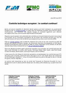 Controle Technique Europeen : contr le technique europ en le combat continue ~ Maxctalentgroup.com Avis de Voitures