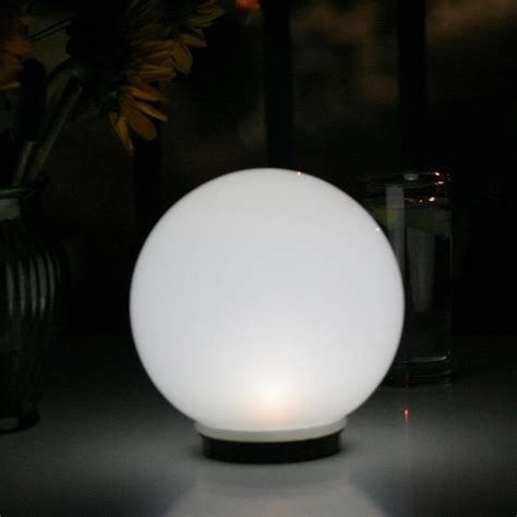 solar magic globe with color changing solar light