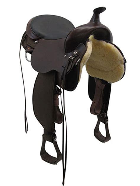 circle  el campo cordura gaited trail saddle  wfree pad