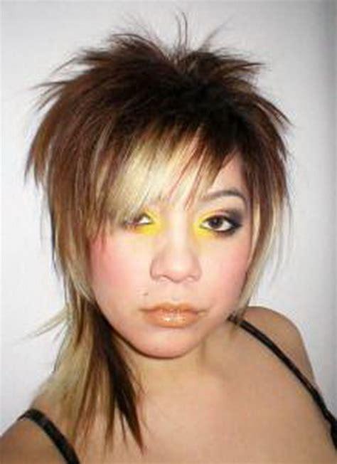 short mullet hairstyles  women