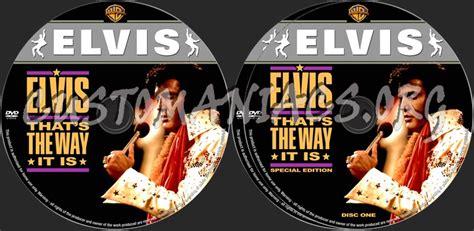 Elvis Presley That's The Way It Is Dvd Label