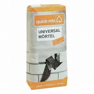 Ausgleichsmasse Quick Mix : quick mix universalm rtel mauer und putzm rtel 10 kg ~ Michelbontemps.com Haus und Dekorationen