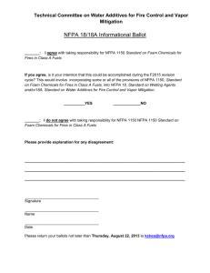 VFIS NFPA 1500 Checklist