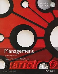 New 3 Days 2 Us    Ca Management 13e Mary Coulter Stephen P  Robbins 13th Edition 133910296