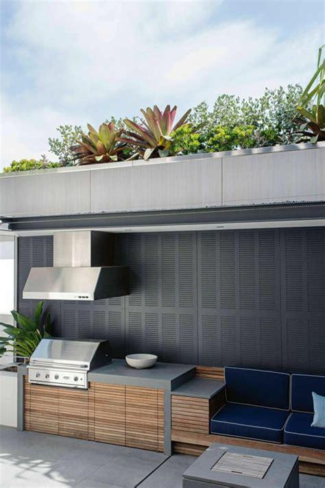 cuisine exterieure moderne cuisine ete exterieure idees amenagement accueil design