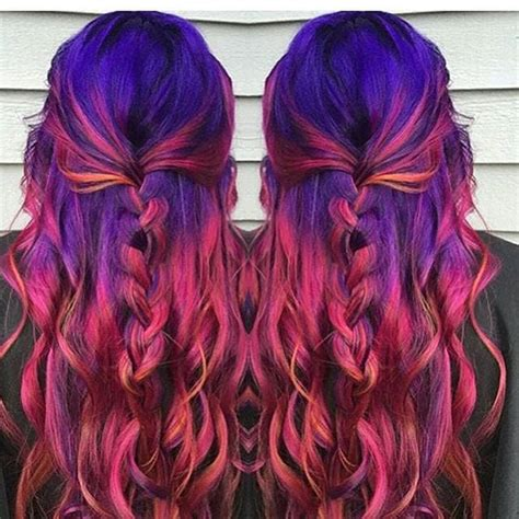 Rainbow Hair Ideas For Valentines Day Popsugar Beauty