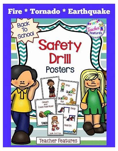 Fire Safety Earthquake Tornado Drills Preschool Drill