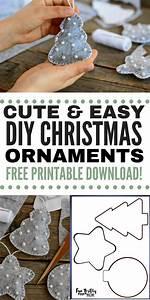 Diy Easy Felt Christmas Ornaments  U22c6 Fun Thrifty Mom