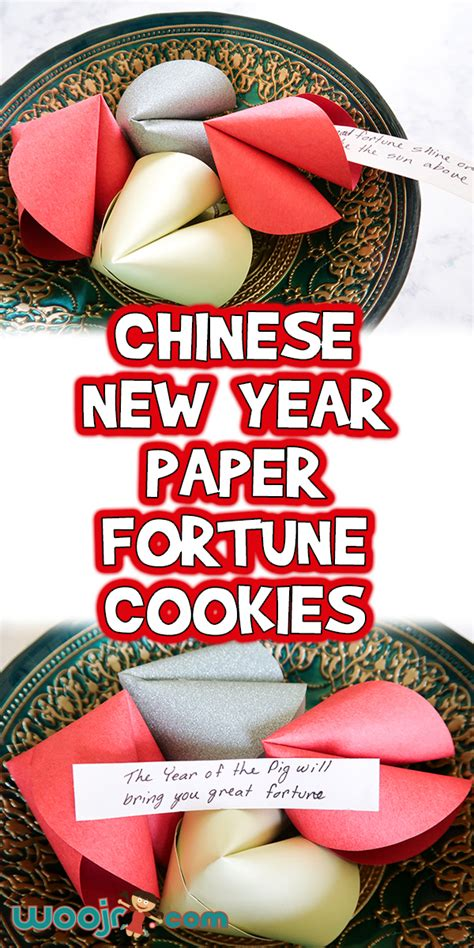 chinese  year paper fortune cookies woo jr kids activities