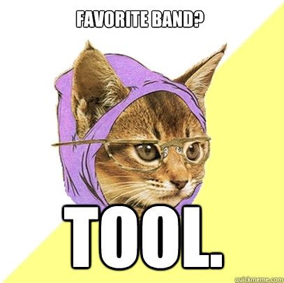 Tool Band Meme - favorite band tool cat meme cat planet cat planet