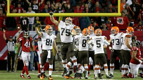 browns  dominated series history  falcons