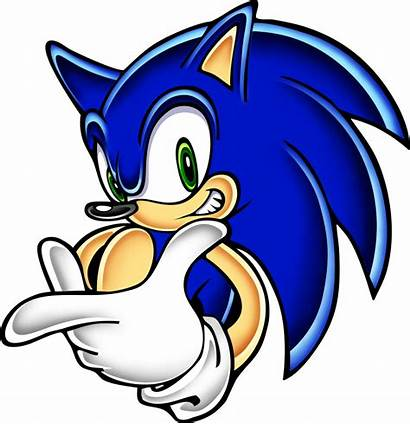 Sonic Kartun Gambar Adventure Hedgehog Clipart Racing