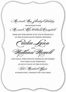 wedding invitation wording both parents theruntimecom With both parents names on wedding invitations
