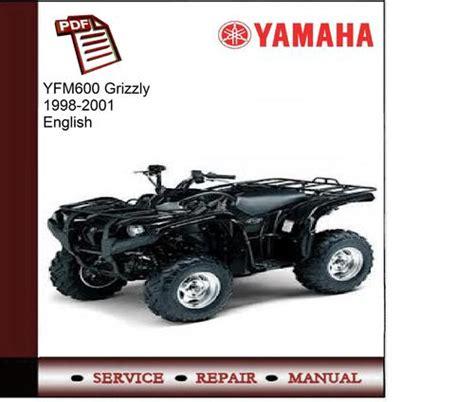yamaha yfm600 grizzly 1998 2001 service manual download manuals