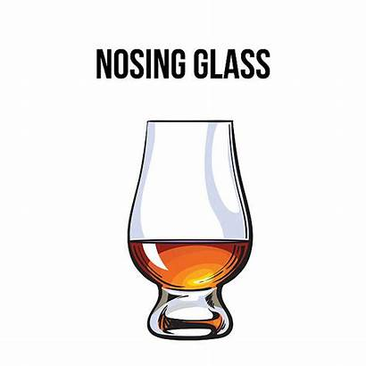 Whiskey Glass Scotch Vector Brandy Illustration Rum
