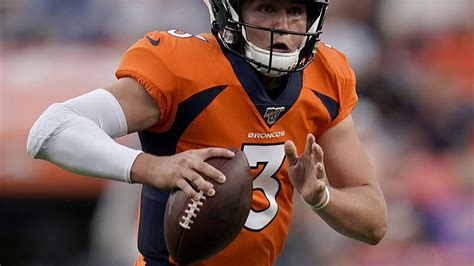 Broncos starting rookie QB Drew Lock vs. Chargers