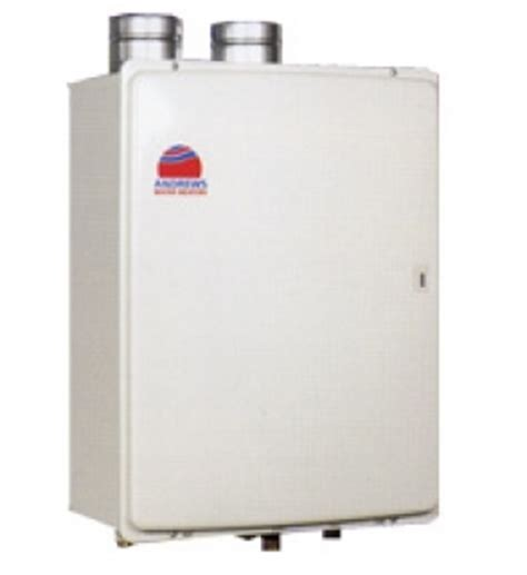 Andrews Fastflo Non Condensing Gas Water Storage Heaters