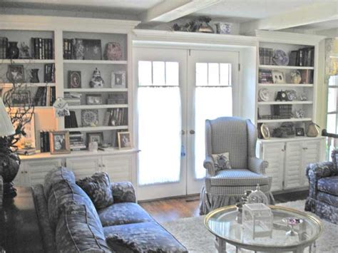 French Country Office, French Country Family Room English