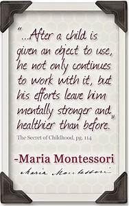 Montessori mate... Sensitive Child Quotes