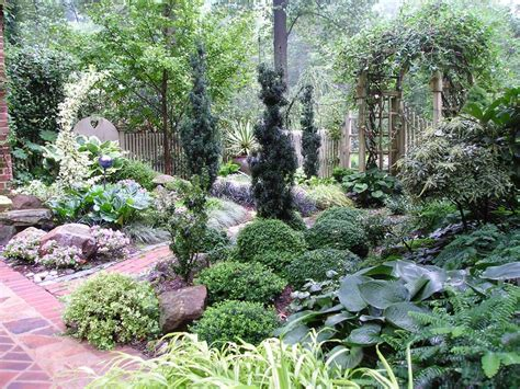 how to land scape 7 design tips for shady gardens longfield gardens