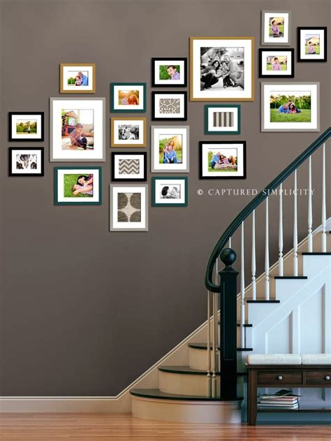 wall design ideas 50 creative staircase wall decorating ideas frames