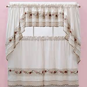 amazon com vienna rose kitchen curtains swags home