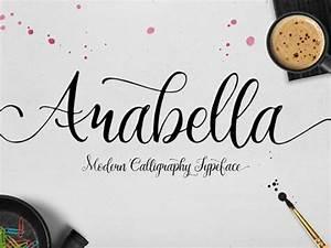 arabella modern calligraphy font freebiesbug With free modern fonts