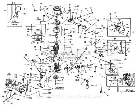 Generac Engine Parts Diagram Auto Electrical Wiring