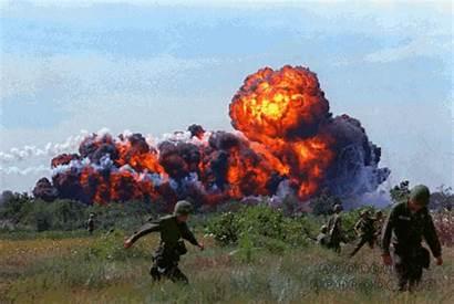Vietnam 1966 South Napalm War Apolonis Strike