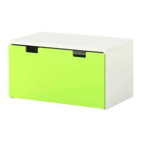 caisse bureau syst m stuva banc avec rangement blanc vert ikea