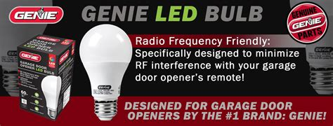 Garage Door Remote Interference by Genie Led Garage Door Opener Light Bulb 60 Watt 800
