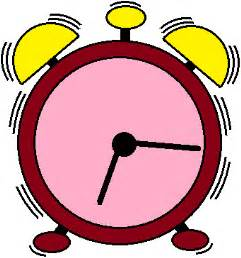 Cartoon Alarm Clock Ringing